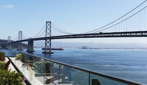 gap inc about us view of bridge and harbor