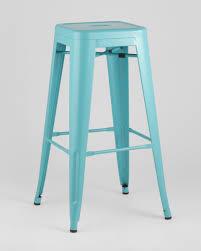 Барный <b>стул Tolix</b> голубой матовый <b>Stool Group</b>