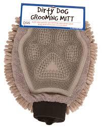 <b>Перчатка для груминга Dog</b> Gone Smart Grooming Mitt серая, 25 х ...