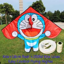 Online Shop <b>free shipping high quality</b> children kite Doraemon with ...