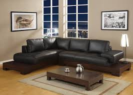 ideal small living room interior black leather sofa decorating ideas deluxe sofas for