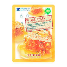<b>3D Маска</b> для лица FoodaHolic Royal Jelly Essence 3D Mask ...