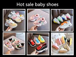 baby shoes for girls boy 1 2 years <b>old</b> children cookie shoes soft ...