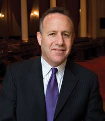 Senator Darrell Steinberg (D-Sacramento) - purple-tie