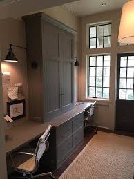 view full size home office built in desks for home office