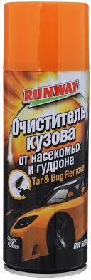"""<b>Очиститель кузова от насекомых</b> и гудрона """"Runway"""", 450 мл ..."""