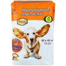 <b>Подстилки Доброзверики</b> для животных <b>впитывающие</b> 60х40см ...