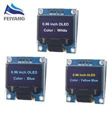 "new original <b>4pin 0.96</b>"" White/Blue/Yellow blue <b>0.96 inch</b> OLED ..."