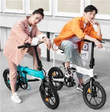 Xiaomi <b>HIMO Z16</b> - <b>Folding</b> Electric Bike with removable battery ...