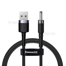 Stylish <b>BASEUS CAFULE Series</b> USB to DC 3.5mm Charging Cable ...