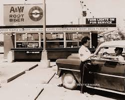 best images about the car hop restaurant a w root beer fast food drive