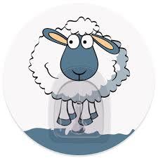 "<b>Крючок адгезивный Tatkraft</b> ""<b>Funny</b> sheep. Maddy"", диаметр 8 см ..."