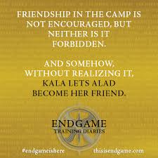 Endgame — Marcus. Kala. Chiyoko. Alice. Endgame Training... via Relatably.com