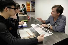 portfolio feedback gives architecture students an edge cornell william staffeld aap