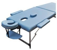 Купить <b>Массажный стол ZENET</b> ZET-1044/L, голубой по низкой ...