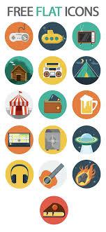 beautiful free flat icons set basic icons flat icons 1000