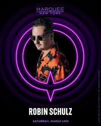 <b>Robin Schulz</b> - Tickets - Marquee Nightclub New York, New York ...