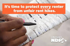 ndp moves to extend rent hike protection to everyone ontario ndp