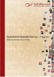 quantitative aptitude test qat tips tricks
