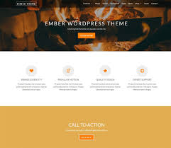 best wordpress themes and templates for  ember wordpress portfolio theme