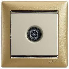 774329 – <b>Розетка TV Legrand VALENA</b> CLASSIC, одиночная ...