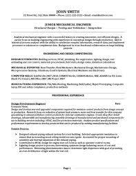 junior mechanical engineer resume template   premium resume    junior mechanical engineer resume