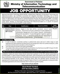 director administration jobs in ministry of information technology general director administration jobs in ministry of information technology and telecommunication nitb