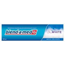 BLEND-A-<b>MED Зубная паста</b> 3D <b>White</b> Medic Delicate