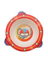 Детская тарелка, цвет красный, 17х16х4,8 см <b>Baby</b> Fox 8830916 ...