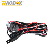 jeep wrangler light bar wiring harness reviews online shopping racbox 2 meter 12v 40a offroad led driving lamp extention wire relay led work light bar wiring loom harness kit fuse switch 4x4