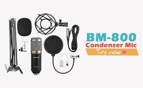 ZINGYOU Condenser Microphone Bundle, BM-800 ... - Amazon.com