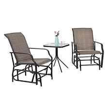 Oakmont 3-Piece <b>Outdoor Rocking Chair</b> Patio Furniture Bistro Sets ...