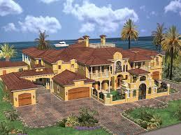 Cedar Palm Luxury Florida Home Plan S    House Plans and MoreCedar Palm Luxury Florida Home  HOUSE PLAN