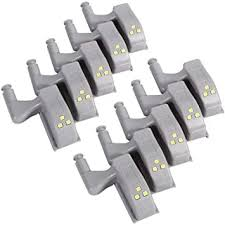10 PCS <b>Cupboard Hinge Light</b>, Universal <b>Cabinet Cupboard Hinge</b> ...