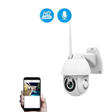 <b>Kruiqi</b> 1080P PTZ <b>IP Camera</b> Outdoor Speed Dome Wireless Wifi ...