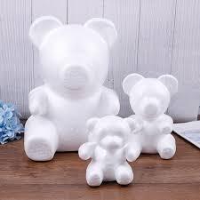 foam bear egg white craft balls modelling polystyrene styrofoam for diy christmas party decoration supplies gifts