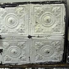 sagging tin ceiling tiles bathroom: antique ceiling tiles decor for your rustic home interior decor