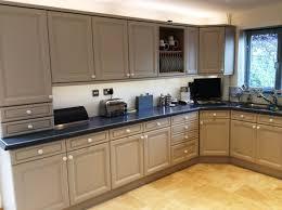limed oak kitchen units: painted oak kitchen doors donington after shot  painted oak kitchen doors