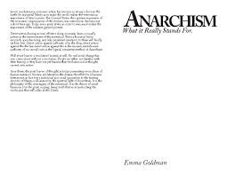 io anarchism anarchism what it really stands for