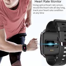 COD <b>Y16 Smartwatch</b> Pedometer Blood Pressure Heart Rate ...