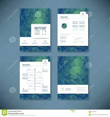 business report template low poly background project business report template low poly background project management brochure document layout for company presentations