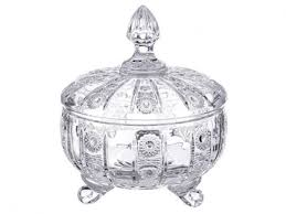 <b>Конфетница Lefard Muza crystal</b> 12х14см с крышкой,стекло ...