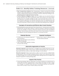 chapter 3 training and development recommendations guidebook page 42