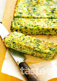 Carrot, zucchini and parsnip frittata fingers (click on the photo to get ...