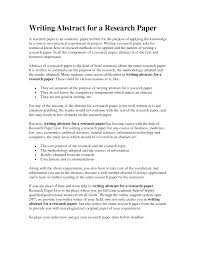 writing an abstract for a paper writing an abstract for a paper tk