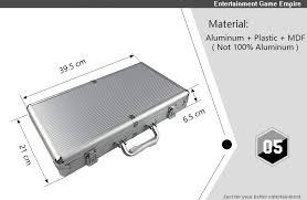 <b>Yernea</b> High Quality Portable 100/300 Suitcase Poker Chips Box ...