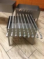 мангал разборный 540х400х310 мм окрашенный сталь металл