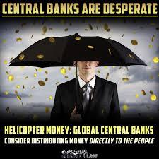 Risultati immagini per helicopter money