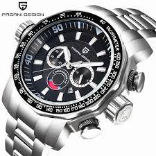 Online Shop Watches <b>Men</b> Luxury Brand <b>PAGANI DESIGN</b> Sport ...