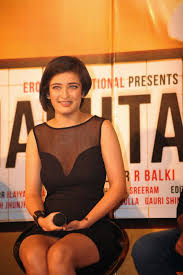 High Quality Bollywood Celebrity Pictures Akshara Haasan Super. Akshara Haasan Super Sexy Legs and Cleavage Show In a Black See through Short Dress At Film Shamitabh Trailer Launch In Mumbai